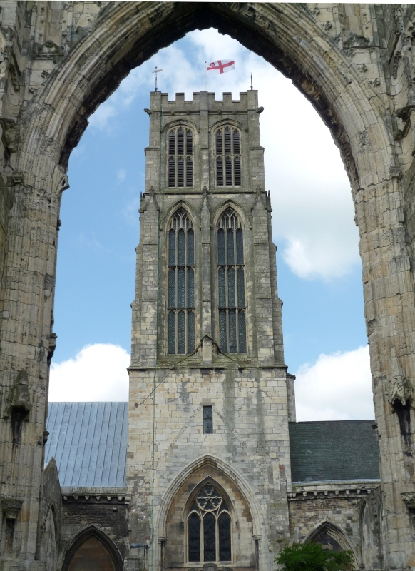 The Minster through the arch