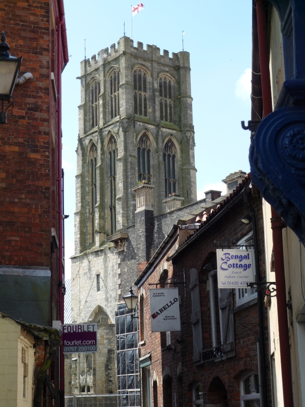 The Minster viewed from Vicar Lane