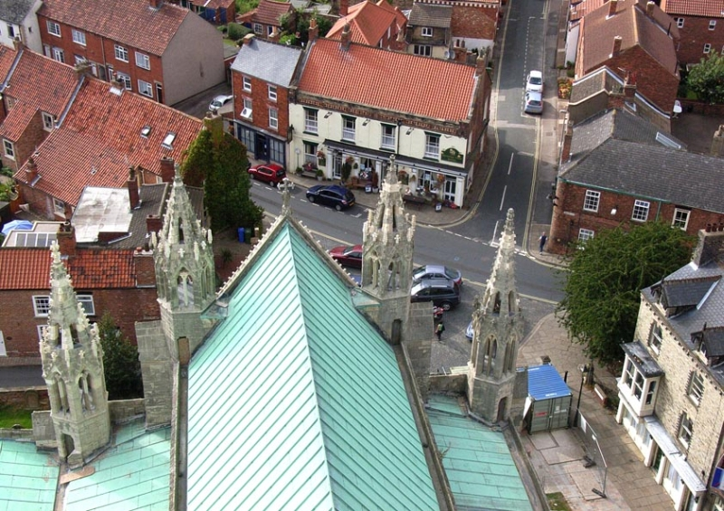 View from the Minster tower